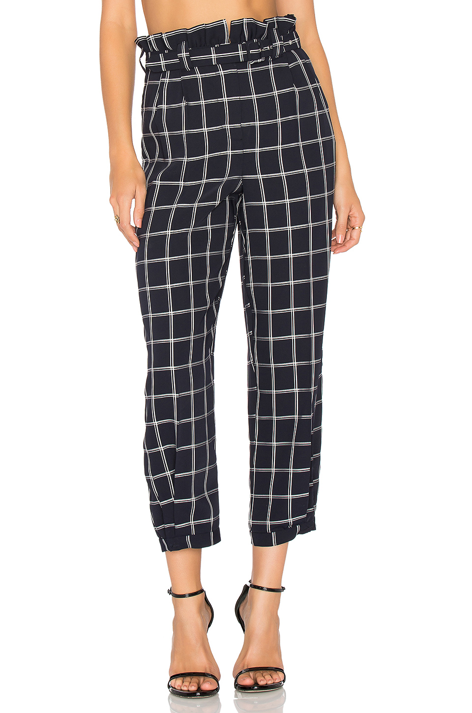 ELIZABETH AND JAMES 'FRITZ' PLAID PANTS