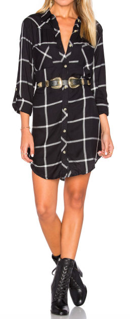 TOLANI 'TINA' PLAID DRESS