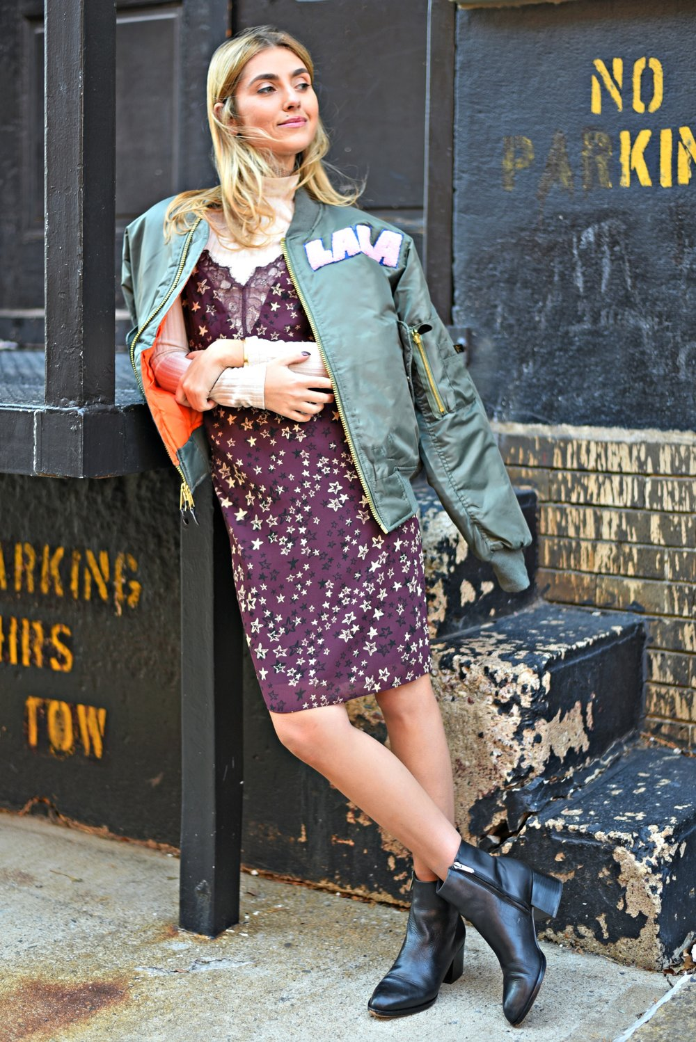 CHARLOTTE BICKLEY YIN 2MY YANG SISTER FASHION BLOGGERS NYC UNEMPLOYED DENIM PERSONALIZED BOMBER JACKET POST 9.jpg