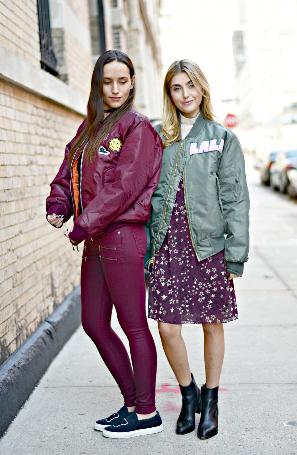 SOPHIE & CHARLOTTE BICKLEY YIN 2MY YANG SISTER FASHION BLOGGERS NYC UNEMPLOYED DENIM POST 1b.jpg