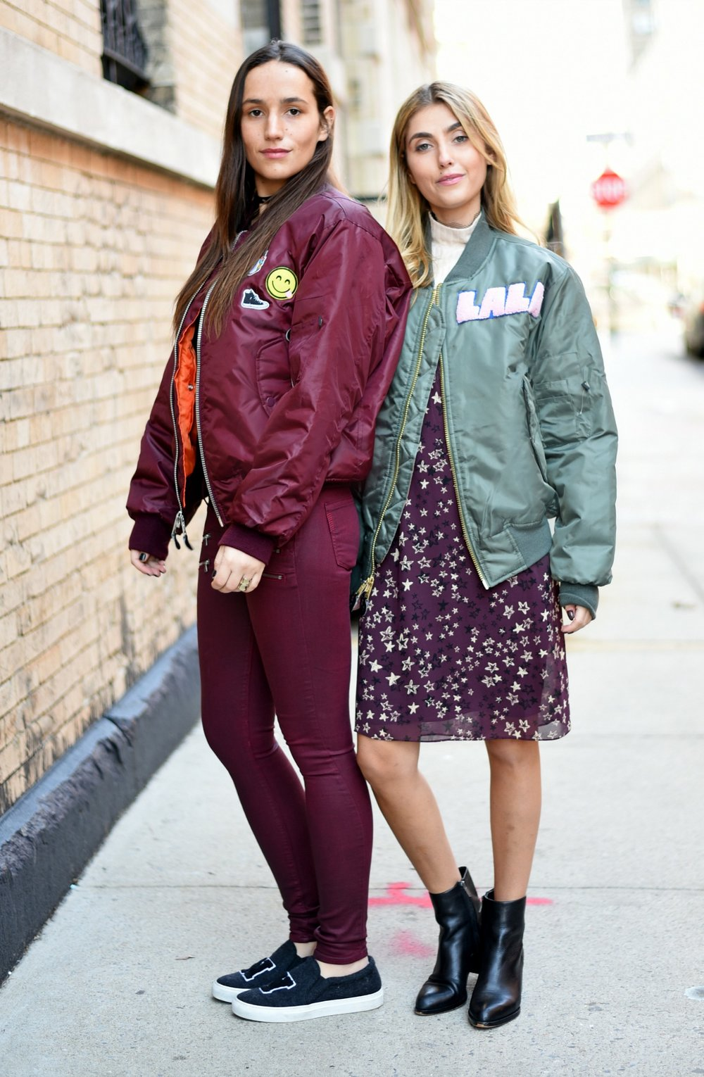 SOPHIE & CHARLOTTE BICKLEY YIN 2MY YANG SISTER FASHION BLOGGERS NYC UNEMPLOYED DENIM POST 1a.jpg