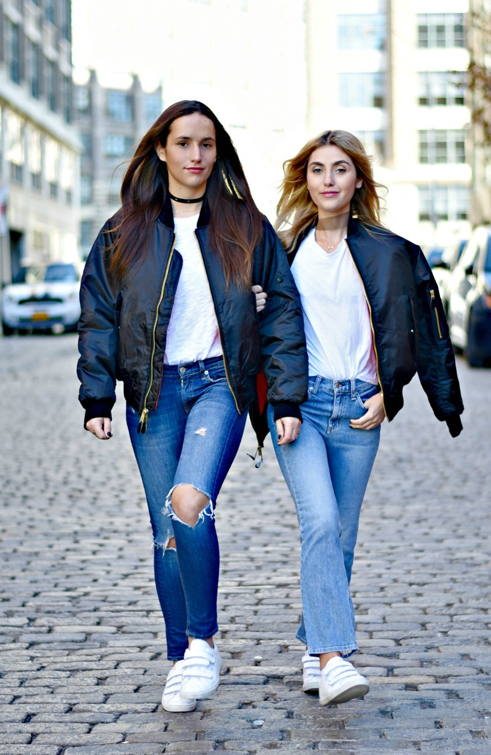 SOPHIE & CHARLOTTE BICKLEY YIN 2MY YANG SISTER FASHION BLOGGERS NYC UNEMPLOYED DENIM POST 4.jpg