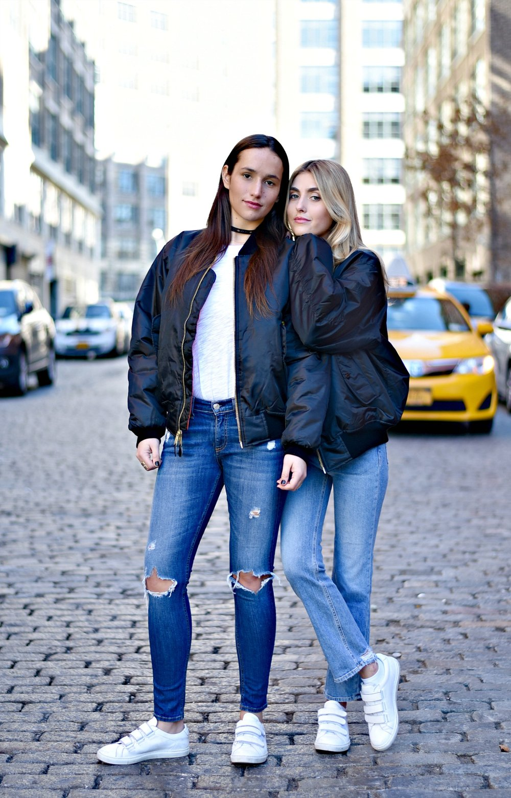 SOPHIE & CHARLOTTE BICKLEY YIN 2MY YANG SISTER FASHION BLOGGERS NYC UNEMPLOYED DENIM POST 7.jpg