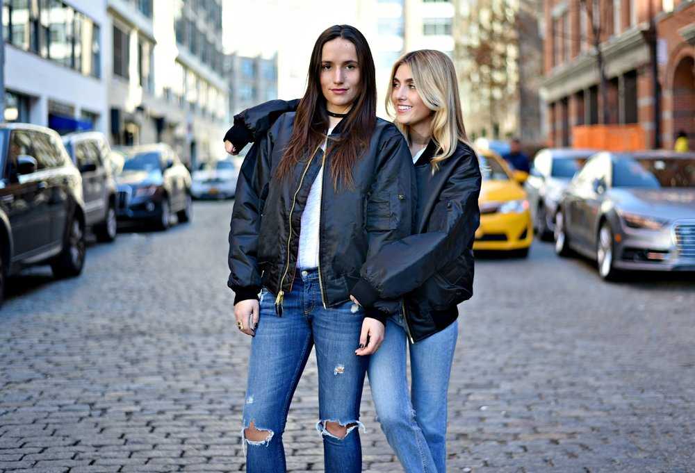 SOPHIE & CHARLOTTE BICKLEY YIN 2MY YANG SISTER FASHION BLOGGERS NYC UNEMPLOYED DENIM POST 9.jpg