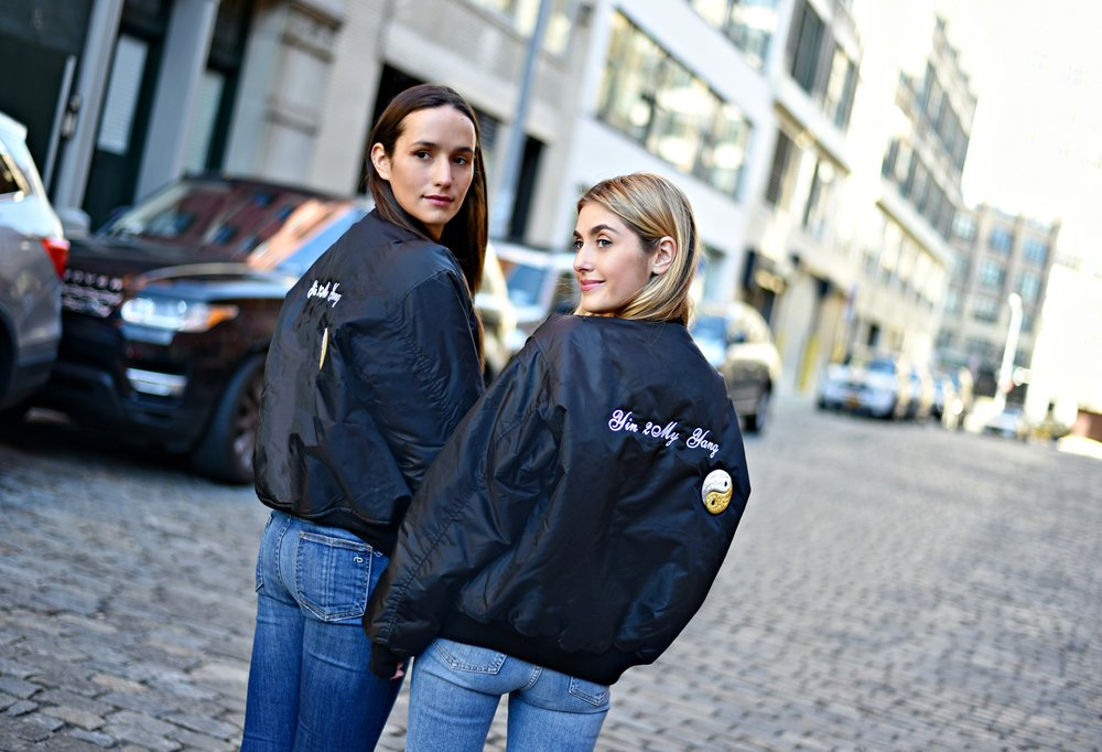 SOPHIE & CHARLOTTE BICKLEY YIN 2MY YANG SISTER FASHION BLOGGERS NYC UNEMPLOYED DENIM POST 14.jpg