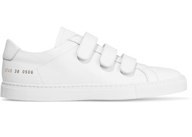 COMMON PROJECTS 'ACHILLES' THREE STRAP LEATHER SNEAKERS