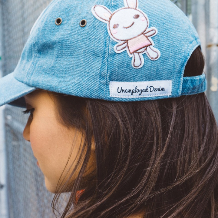 BLUE PERSONALIZED HAT