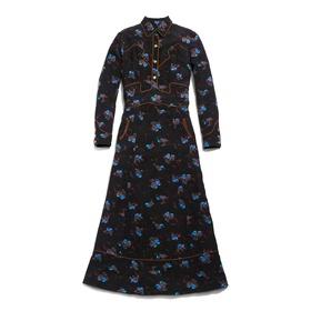 COACH WESTERN MAXI DRESS