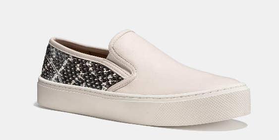 COACH CAMERON SLIP ONS