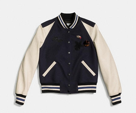 COACH ICON VARSITY JACKET