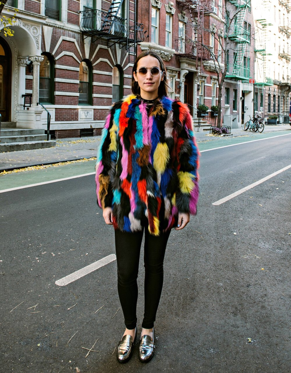 SOPHIE BICKLEY YIN 2MY YANG FASHION BLOGGER STATEMENT JACKET POST