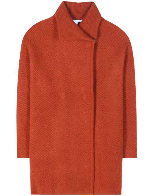 DVF ORANGE COAT