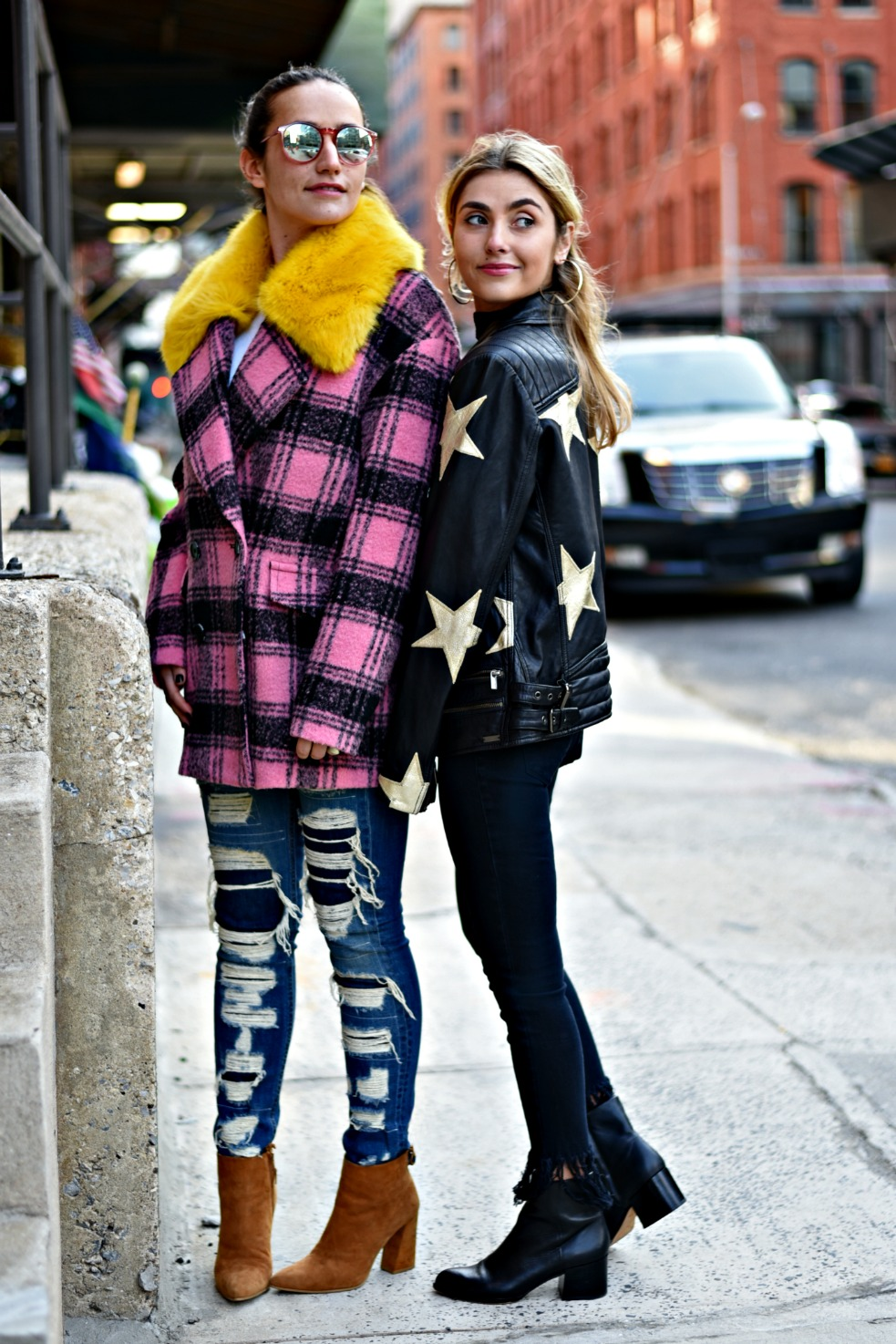 SOPHIE & CHARLOTTE BICKLEY YIN 2MY YANG SISTER FASHION BLOGGER SCOTCH & SODA POST
