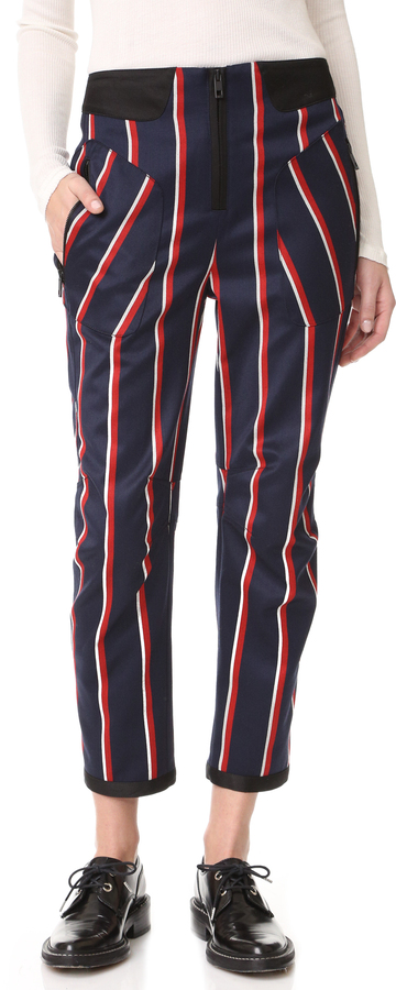 RAG & BONE 'SAVOY' STRIPED PANTS