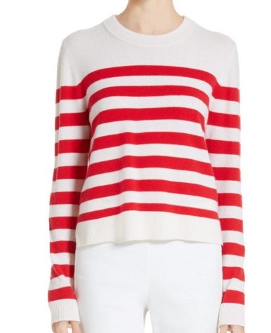 RAG & BONE 'LILLIAN' STRIPE CASHMERE SWEATER