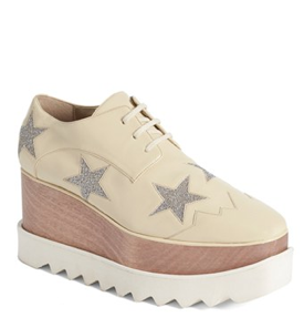 STELLA MCCARTNEY FAUX LEATHER PLATFORM BROUGES