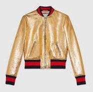 NASTY GAL GRAND MASTER METALLIC BOMBER