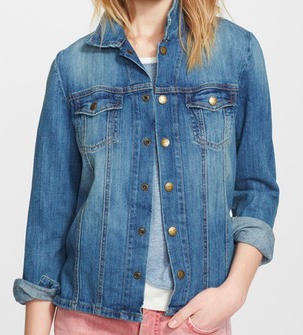 CURRENT ELLIOT 'THE MECHANIC' JEAN JACKET