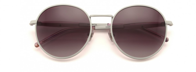 WILDFOX WHITE DAKOTA SUNGLASSES