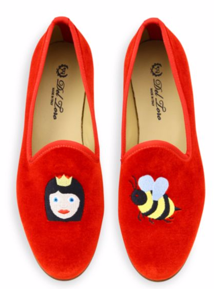 DEL TORO QUEEN BEE SMOKING LOAFERS
