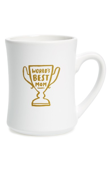 THE CREATED CO. WORLD'S BEST MOM MUG