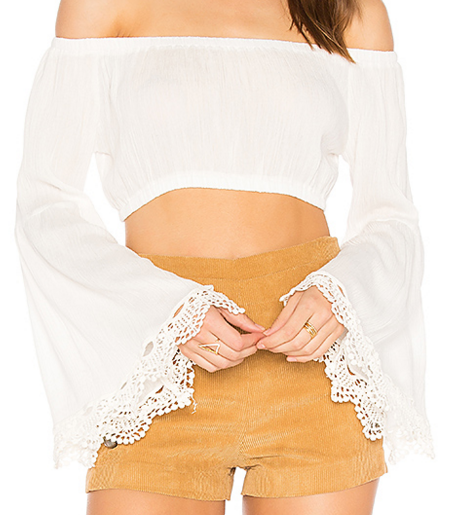 WYLDR 'MADISON' BELL SLEEVE TOP