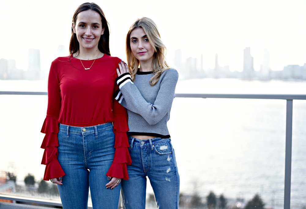 SOPHIE AND CHARLOTTE BICKLEY YIN 2MY YANG FASHION SISTER BLOGGERS NYC EXAGGERATED SLEEVES POST