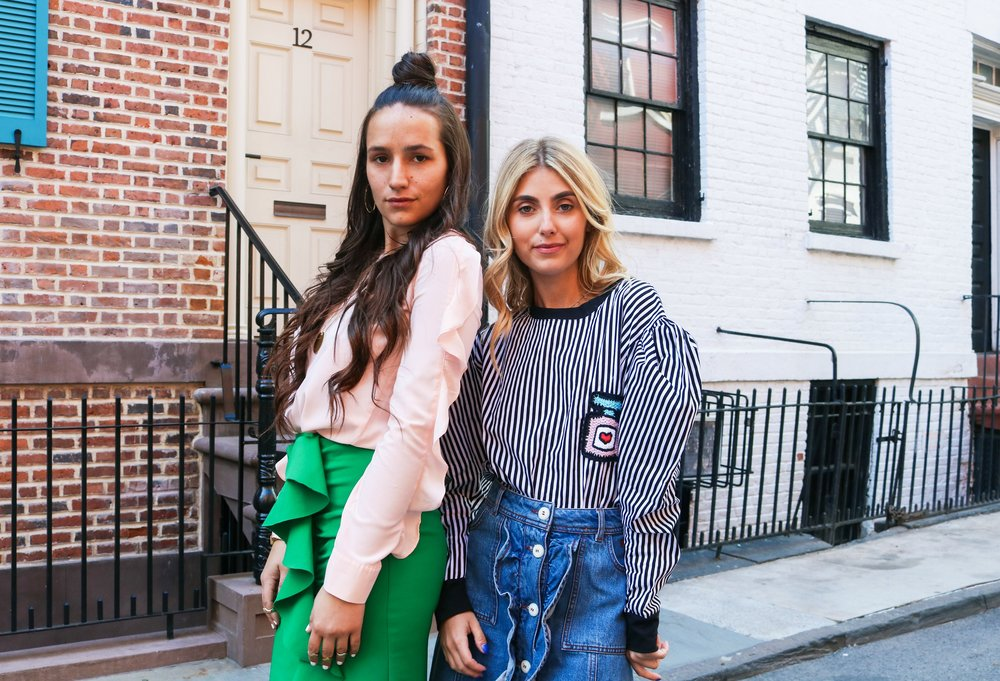 SOPHIE AND CHARLOTTE BICKLEY YIN 2MY YANG SISTER BLOGGERS RUFFLE AND PUFF POST