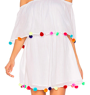 PITUSA 'POM POM FESTIVAL' DRESS