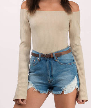ESTELLE TOAST BODYSUIT
