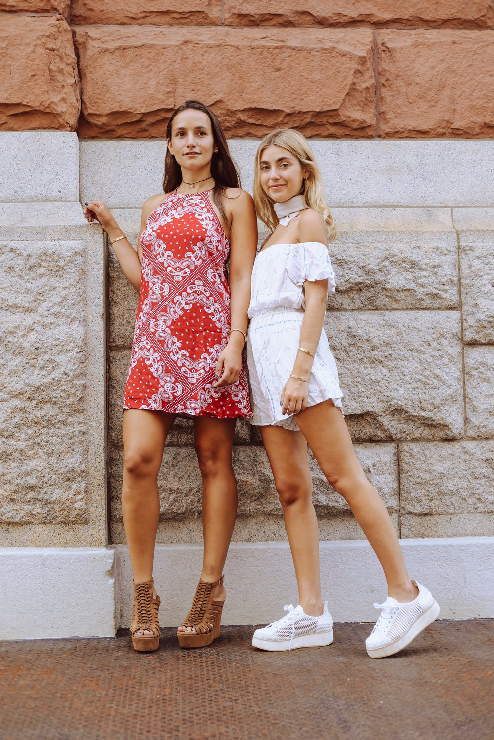 SOPHIE & CHARLOTTE BICKLEY YIN 2MY YANG NYC SISTER FASHION BLOGGERS TOBI BANDANA POST