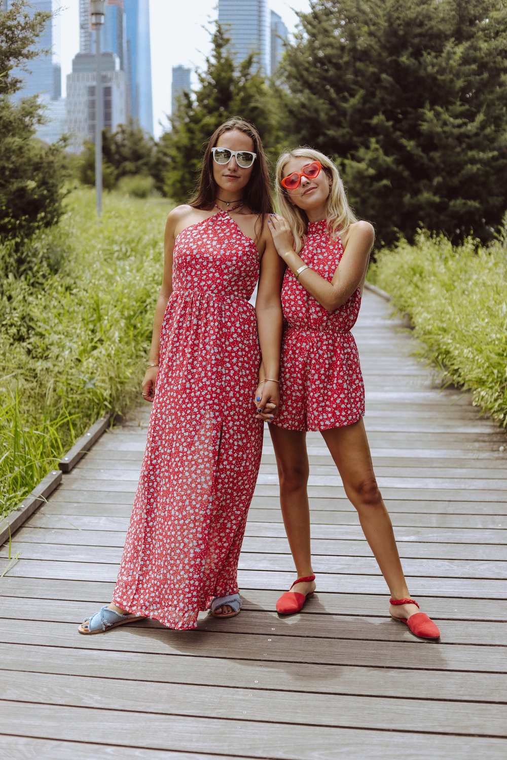 SOPHIE AND CHARLOTTE BICKLEY YIN 2MY YANG SISTER FASHION BLOGGERS NYC TOBI POST