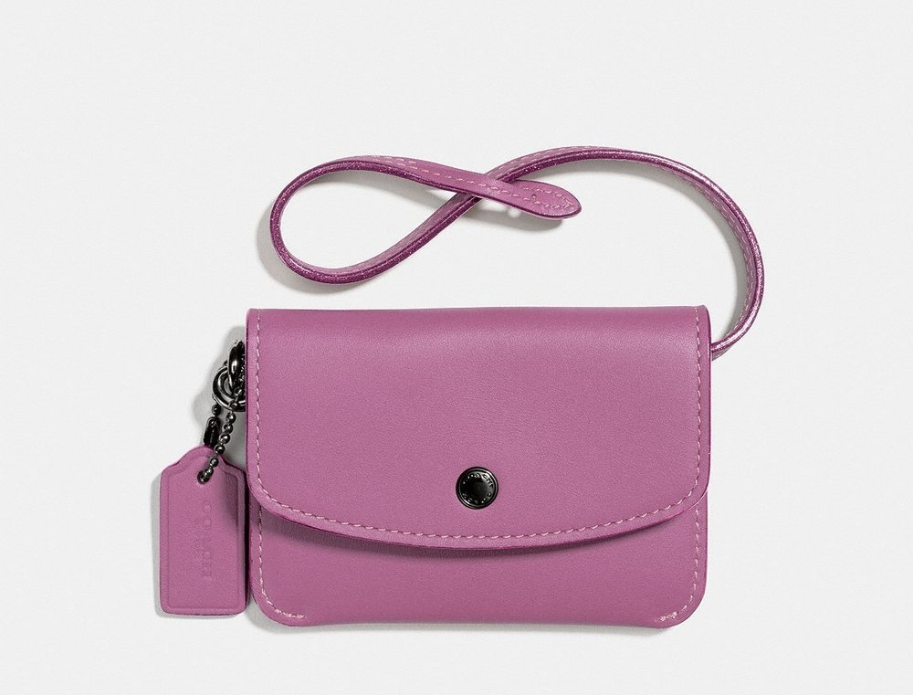 Coach Card Case Pouch