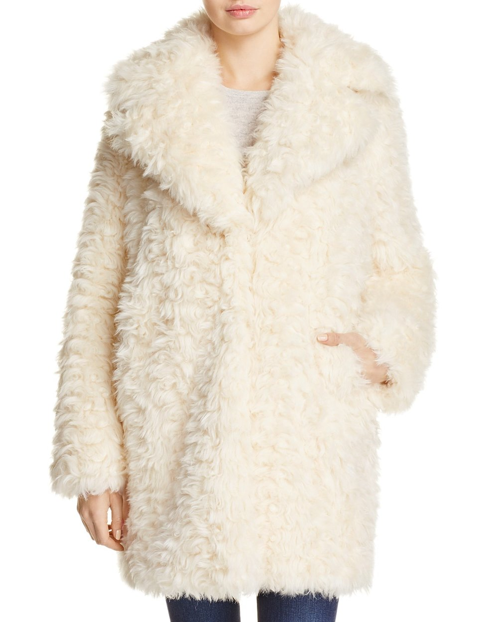 Kendall & Kylie Faux Fur Coat