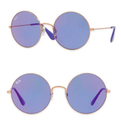 RAY BAN PURPLE TINTED SUNGLASSES
