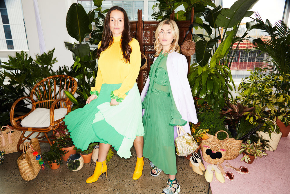 SOPHIE AND CHARLOTTE BICKLEY YIN 2MY YANG SHOPBOP STYLEHIGH EVENT NYC SISTER FASHION BLOGGERS