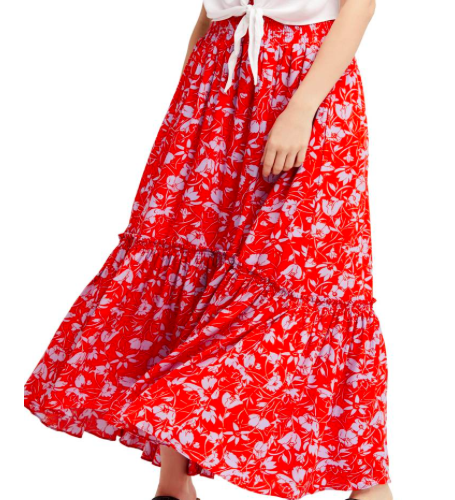 Free People Way of the Wind Skirt