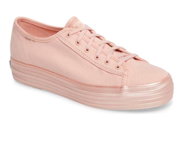 Meds Triple Shimmer Platform Sneaker
