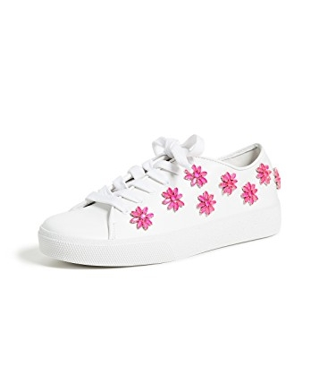 ALICE AND OLIVIA CLEO FLOWER SNEAKERS