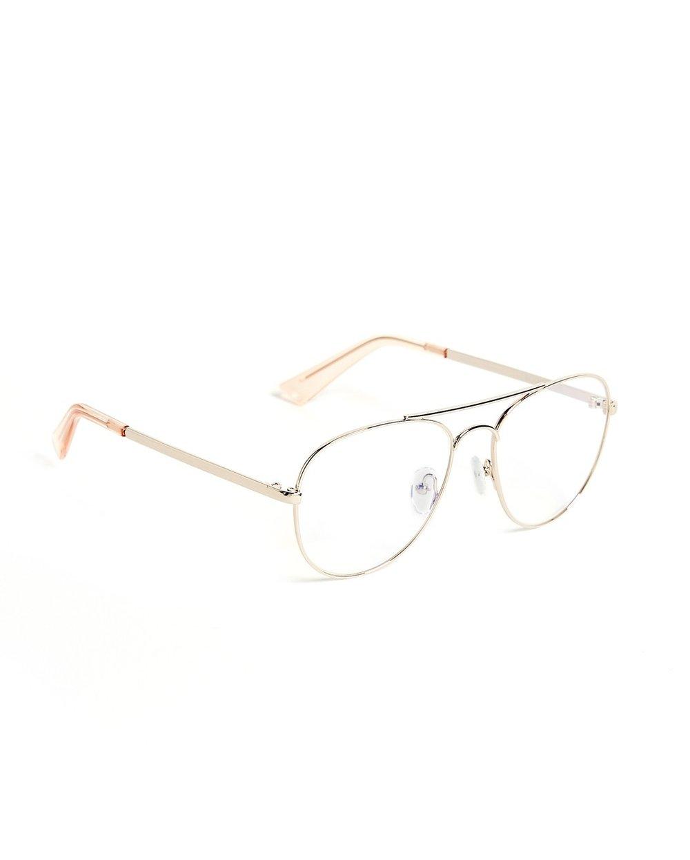 The Book Club Aviator Glasses