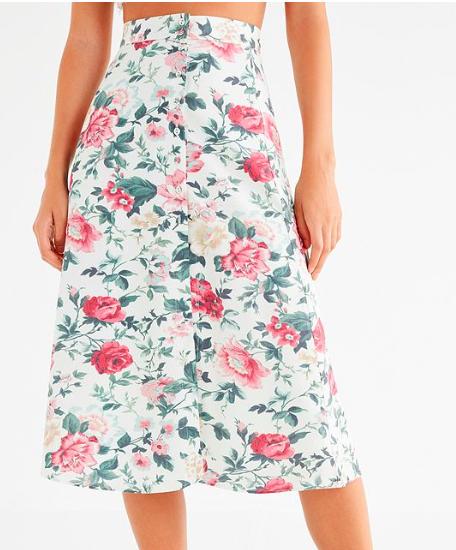 Majorelle Sunday Floral Skirt
