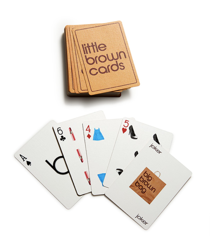 Bloomingdales Little Brown Cards Set
