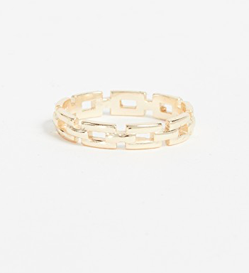 Shashi Chain Band Ring