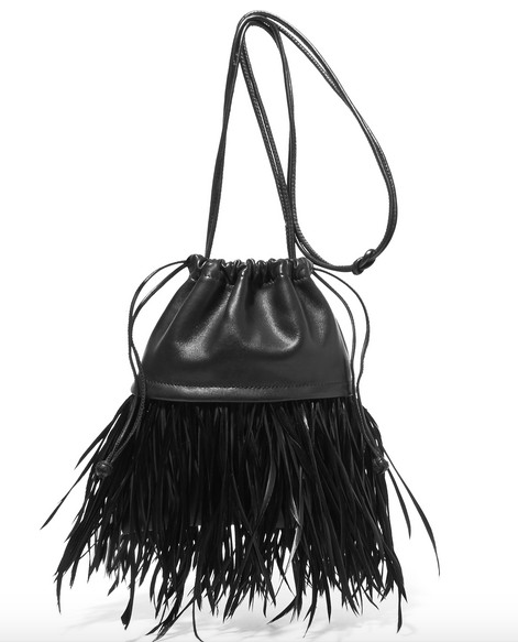Alexander Wang Mini Feather Dustbin