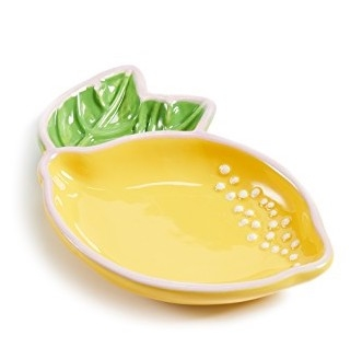 SUNNYLIFE LEMON TRINKET TRAY