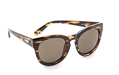 Le Specs Tortoise Sunglasses