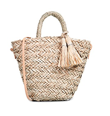 Hat Attack Petite Seagrass Tote Bag