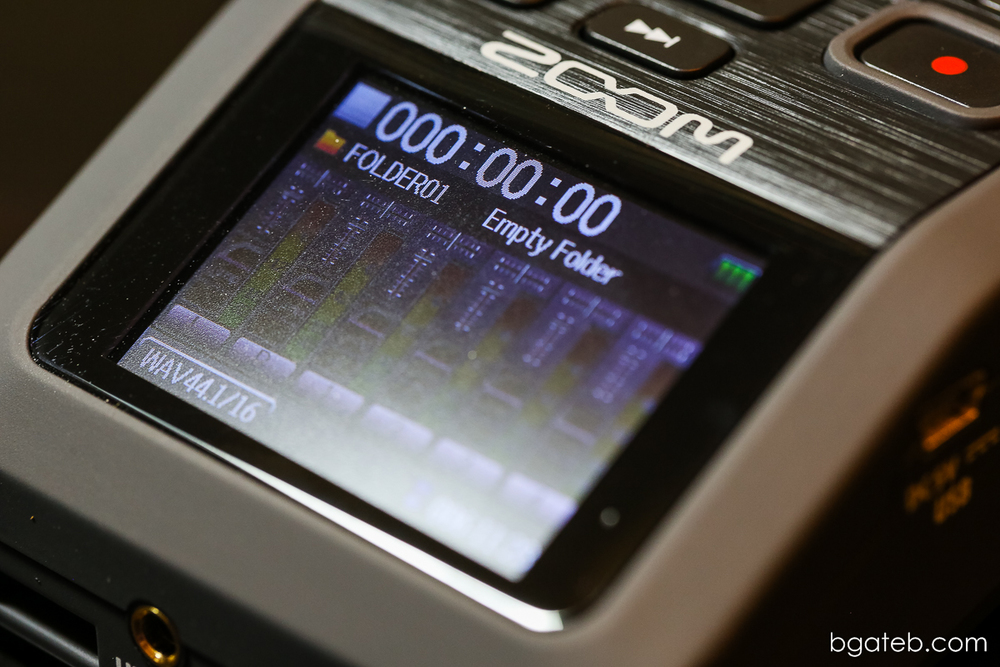 Zoom H6 LCD