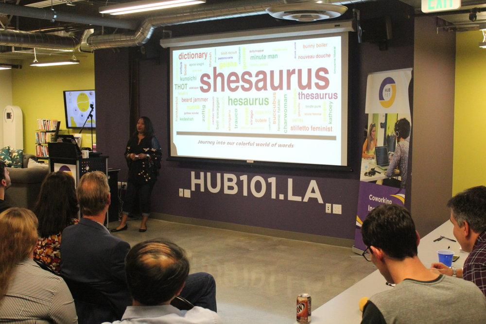 Shesaurus Hub101