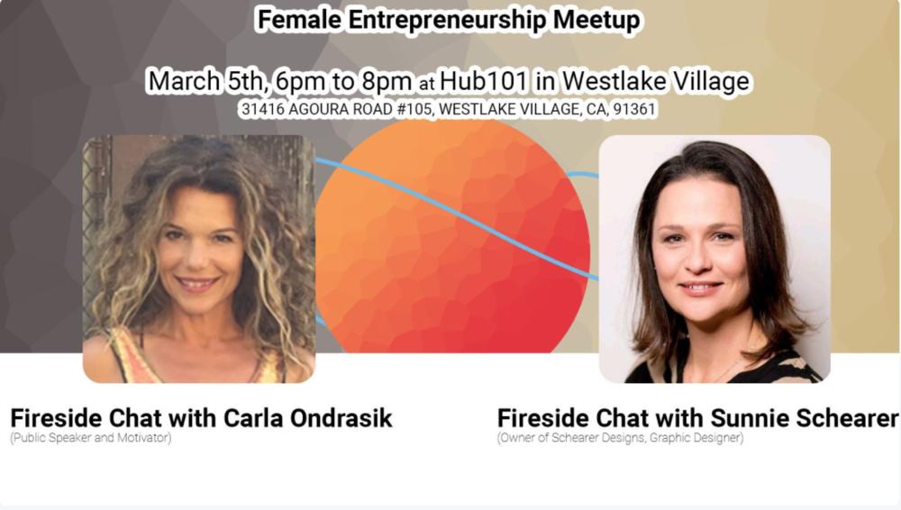 Female Entrepreneurship w/ Carla Ondrasik & Sunnie Schearer Hub101